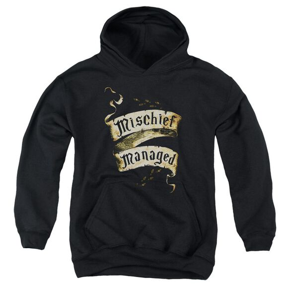 Harry Potter Mischief Managed Youth Pull Over Hoodie