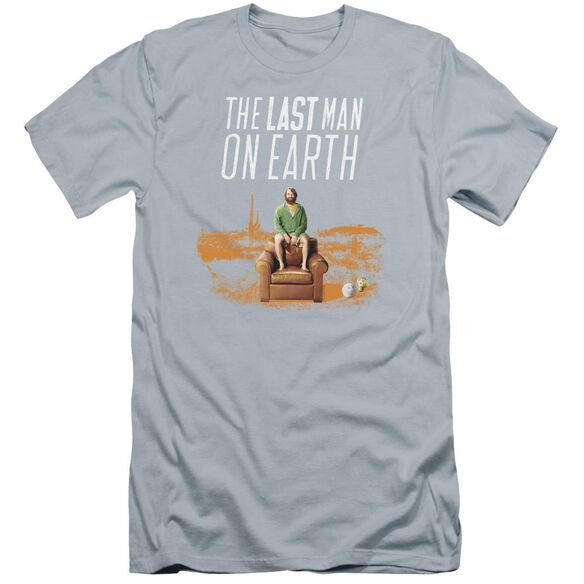 Last Man On Earth Phil On Chair Premuim Canvas Adult Slim Fit Light