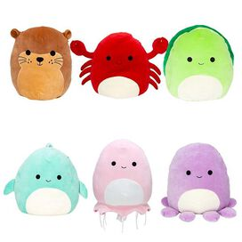 "Squishmallows Mystery Squad Sealife 4""Capsule"