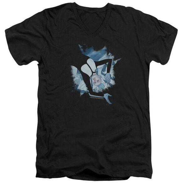 Doctor Mirage Mirage Burst Short Sleeve Adult V Neck T-Shirt