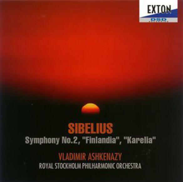Sibelius: Sym 2/ Karelia - Ashkenazy / Royal Stockholm Philharmo