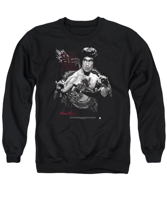 Bruce Lee The Dragon Adult Crewneck Sweatshirt