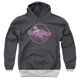 Deep Purple Smoke On The Water Youth Pull Over Hoodie