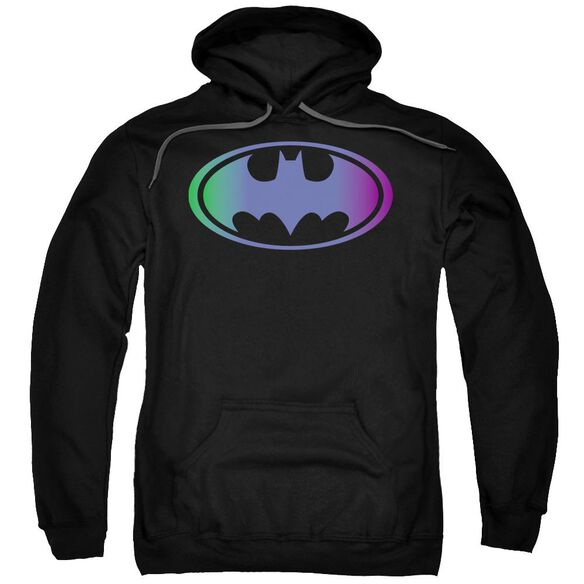 Batman Gradient Bat Logo Adult Pull Over Hoodie
