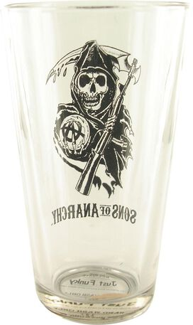 Sons of Anarchy Reaper Pint Glass