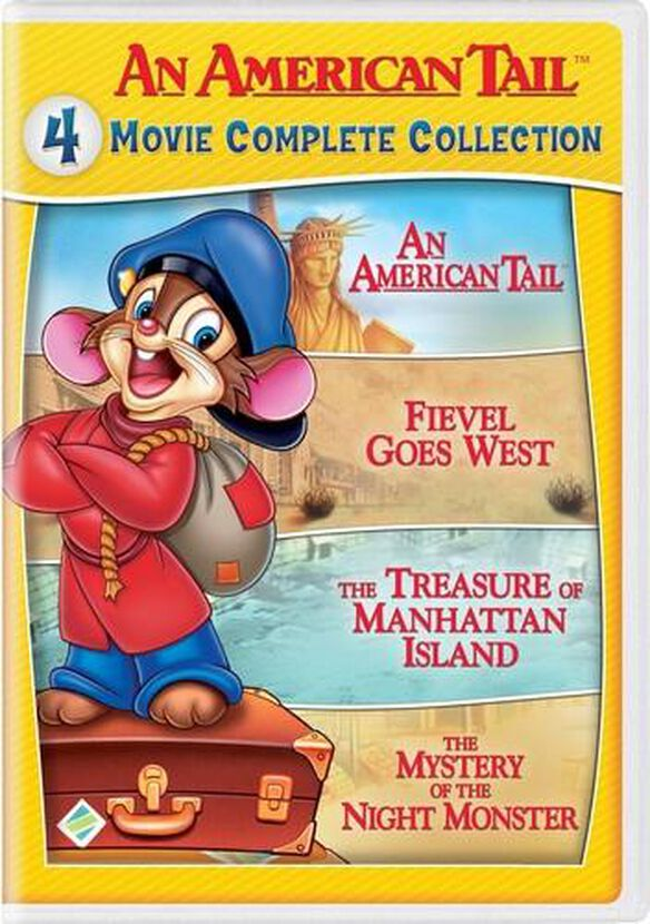 An American Tail: 4 Movie Complete Collection