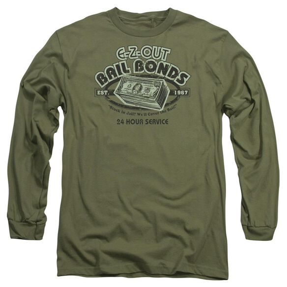 E Long Sleeve Adult Military T-Shirt