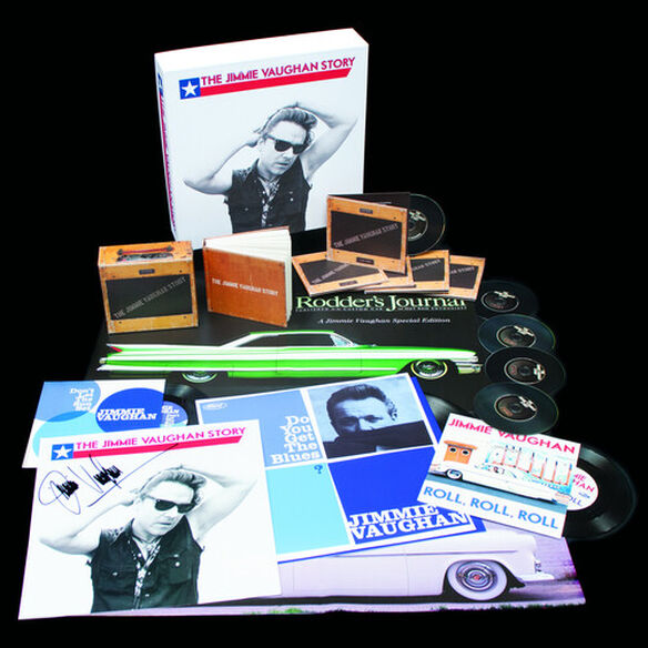Jimmie Vaughan - The Jimmie Vaughan Story (Deluxe Edition 5CD Set, 12-inch Vinyl, 2x7-inch Singles & Book)