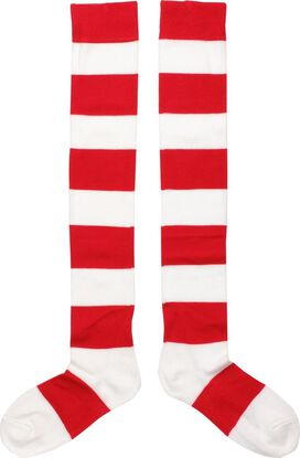 Where's Waldo Wenda OTK Socks