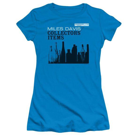 Miles Davis Collectors Items Short Sleeve Junior Sheer T-Shirt