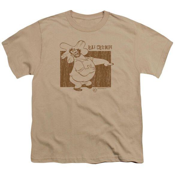 Popeye Ha! Chump! Short Sleeve Youth T-Shirt