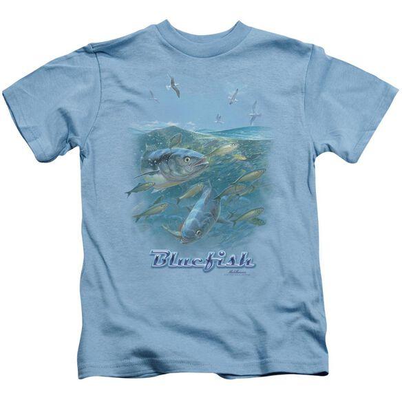 Wildlife Blue Mayhem Short Sleeve Juvenile Carolina Blue T-Shirt