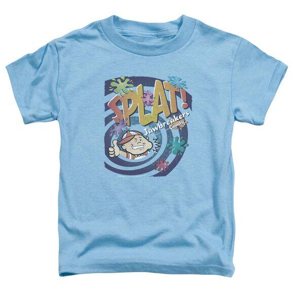 Dubble Bubble Splat Jawbreakers Short Sleeve Toddler Tee Carolina Blue Lg T-Shirt