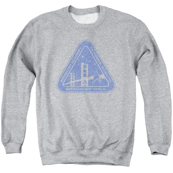 Star Trek Distressed Logo Adult Crewneck Sweatshirt Athletic