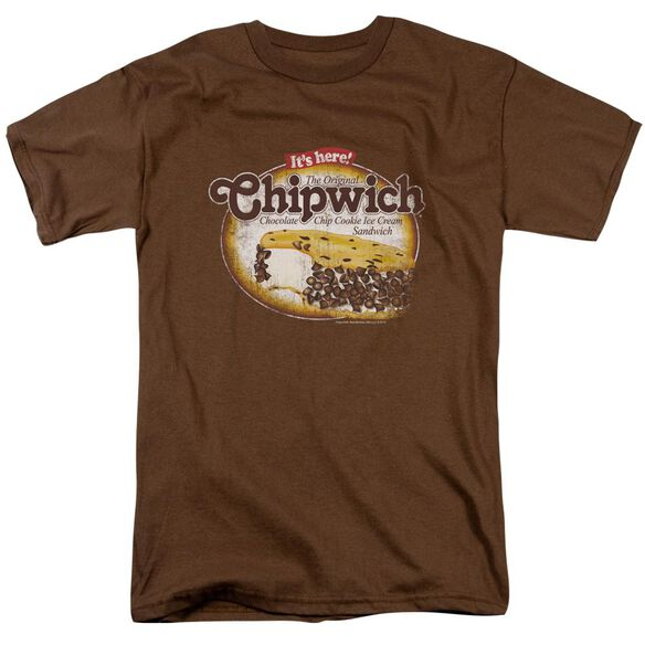 Chipwich Distressed Chipwich Short Sleeve Adult T-Shirt