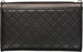 Harley Quinn Logo Envelope Chain Clutch Wallet