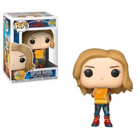 Funko Pop!: Captain Marvel [w/ Tesseract]
