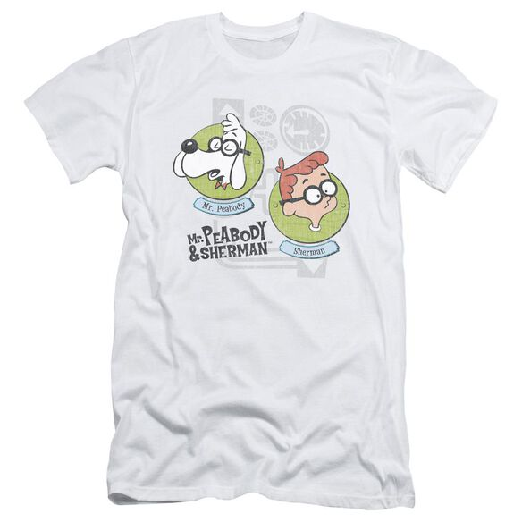 Mr Peabody & Sherman Gadgets Short Sleeve Adult T-Shirt