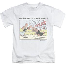 Popeye Blue Bash Short Sleeve Juvenile T-Shirt