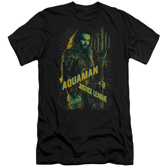 Justice League Movie Aquaman Short Sleeve Adult T-Shirt