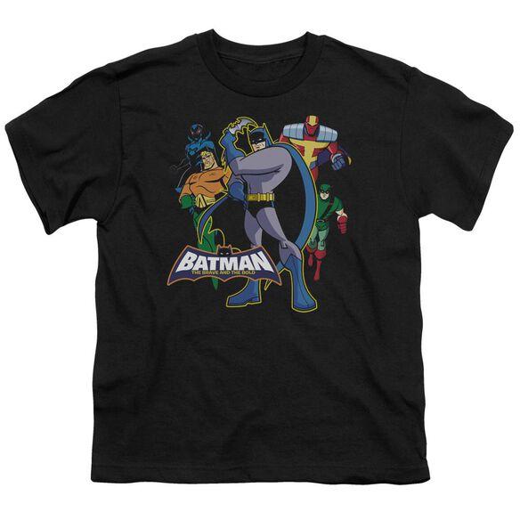 Batman Bb Waiting Short Sleeve Youth T-Shirt