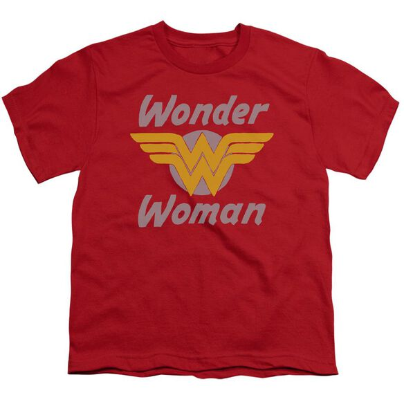 Dc Wonder Wings Short Sleeve Youth T-Shirt