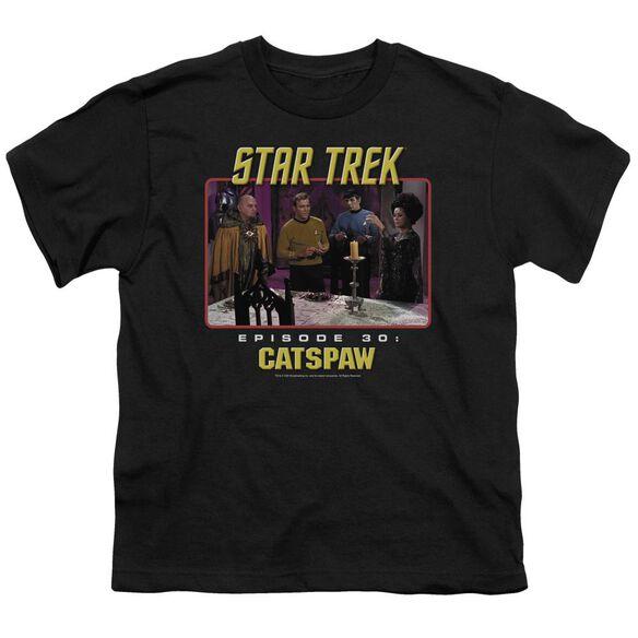 Star Trek Original Cat's Paw Short Sleeve Youth T-Shirt