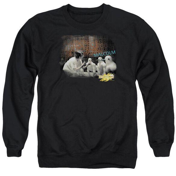 Mirrormask Bob Malcolm Adult Crewneck Sweatshirt