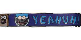 Regular Show Mordecai and Rigby Yeahuh Seatbelt Mesh Belt