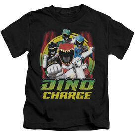 Power Rangers Dino Lightning Short Sleeve Juvenile T-Shirt
