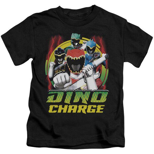 Power Rangers Dino Lightning Short Sleeve Juvenile T-Shirt