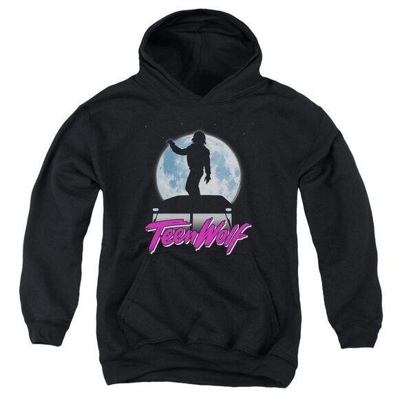 Teen Wolf Moonlight Surf Youth Pull Over Hoodie