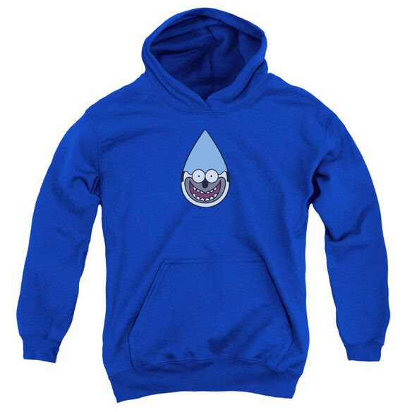 Regular Show Mordecai Youth Pull Over Hoodie Royal