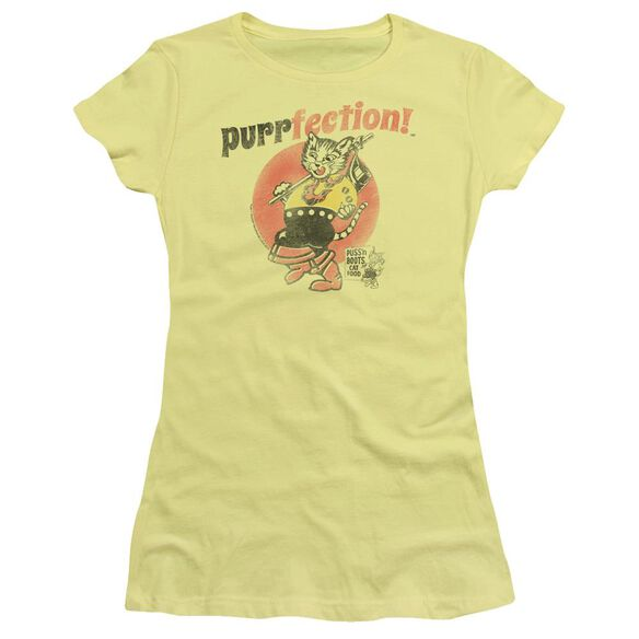Puss N Boots Purrfection Short Sleeve Junior Sheer T-Shirt