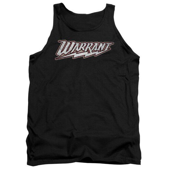 Warrant Warrant Logo Adult Tank