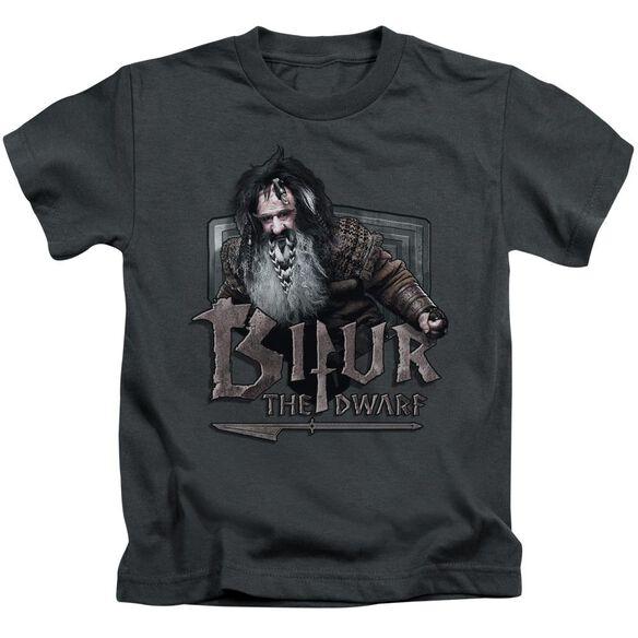 The Hobbit Bifur Short Sleeve Juvenile Charcoal Md T-Shirt