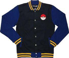 Pokemon Letterman Mighty Fine Snap Jacket