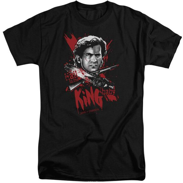 Army Of Darkness Hail To The King Short Sleeve Adult Tall T-Shirt
