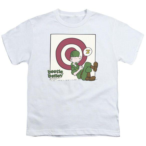 Beetle Bailey Target Nap Short Sleeve Youth T-Shirt