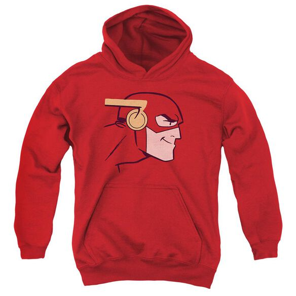 Jla Cooke Head Youth Pull Over Hoodie
