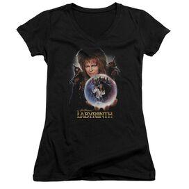 Labyrinth I Have A Gift Junior V Neck T-Shirt