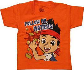 Jake and Never Land Pirates Follow Toddler T-Shirt