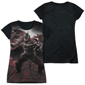Infinite Crisis Ic Batman Short Sleeve Junior Poly Black Back T-Shirt