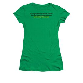 Pickle Jar Short Sleeve Junior Sheer Kelly T-Shirt