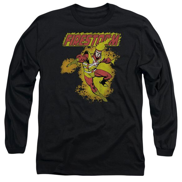 Dc Firestorm Long Sleeve Adult T-Shirt