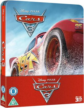 Cars 3 [Limited Edition 3D Blu-ray Steelbook]