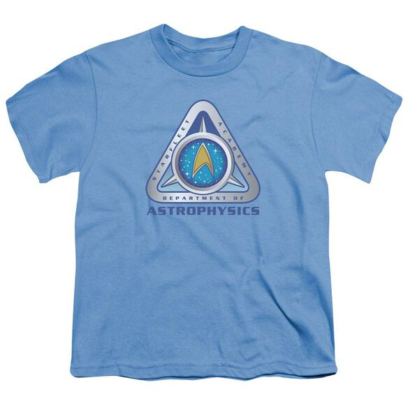Star Trek Astrophysics Short Sleeve Youth Carolina T-Shirt