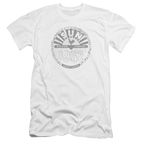 Sun Records Crusty Logo Premuim Canvas Adult Slim Fit