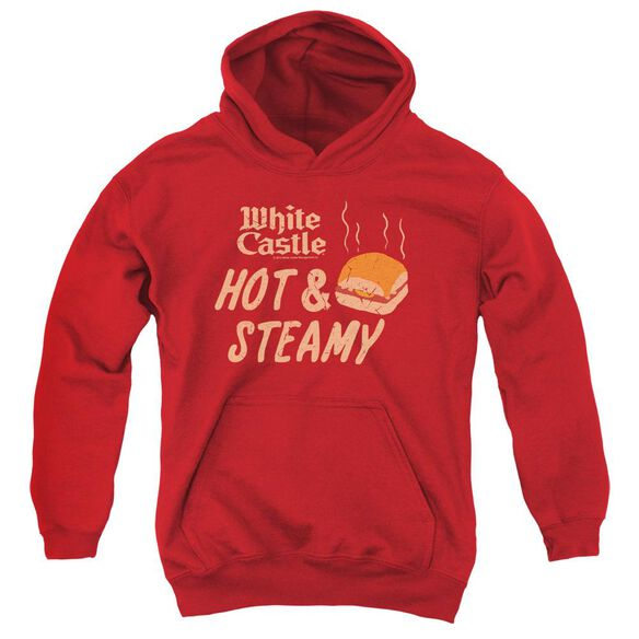 White Castle Hot & Steamy Youth Pull Over Hoodie