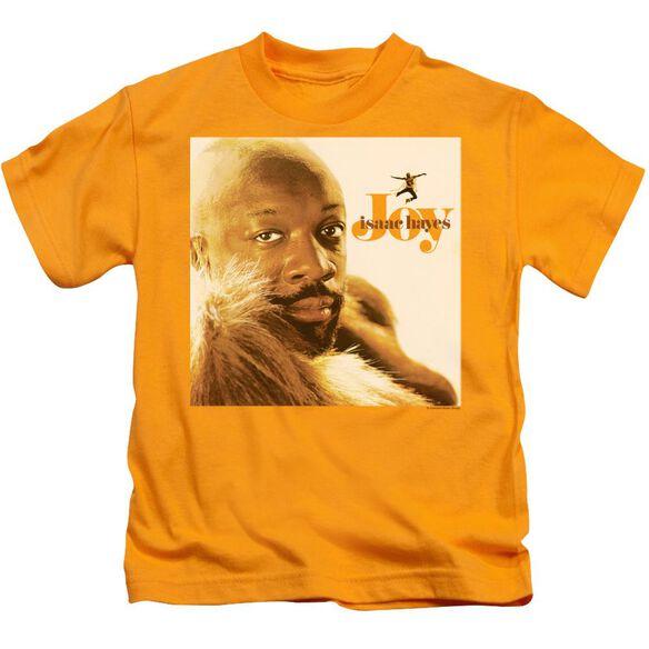 Isaac Hayes Joy Short Sleeve Juvenile Gold T-Shirt